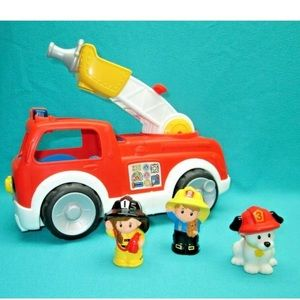 VTG Fisher -Price Little People Lift Fire Truck